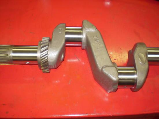 crankshaft after machine work